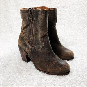 Corral Heeled Ankle Booties